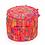 Thumbnail: Pink Indian Ottoman