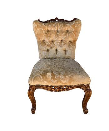 Gold Parlour Chair
