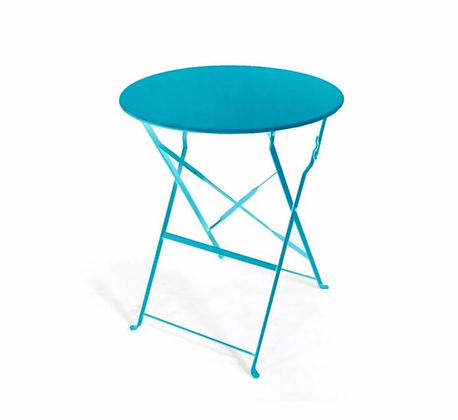 Blue Bistro Table