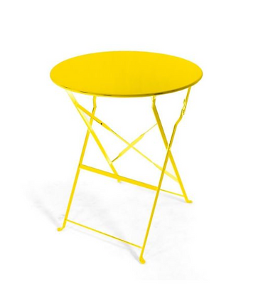 Yellow Bistro Table