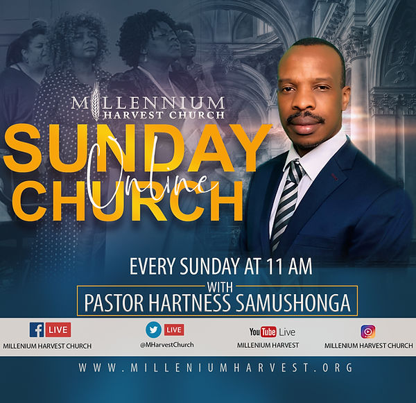 Millenium Harvest Church Flyer