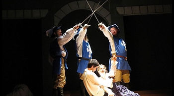 3 Musketeers Stage Combat Moment