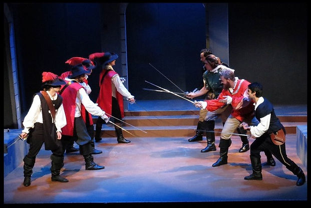 3 Musketeers Stage Combat