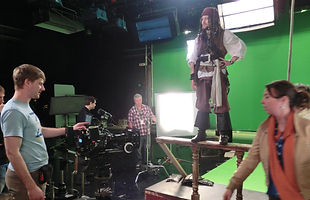 Behind the Scenes on Storm Pirates