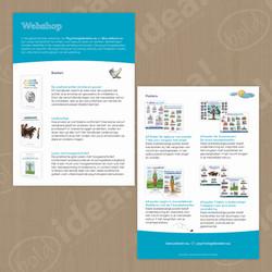 Webshop Flyer