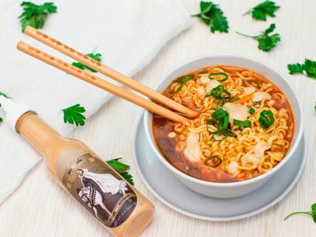 Design a Stunning noodle soup