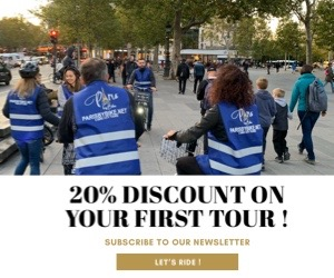 20% discount on your first tour !!!