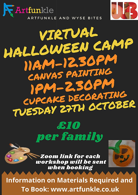 Virtual Halloween Camp -Tue 27th October