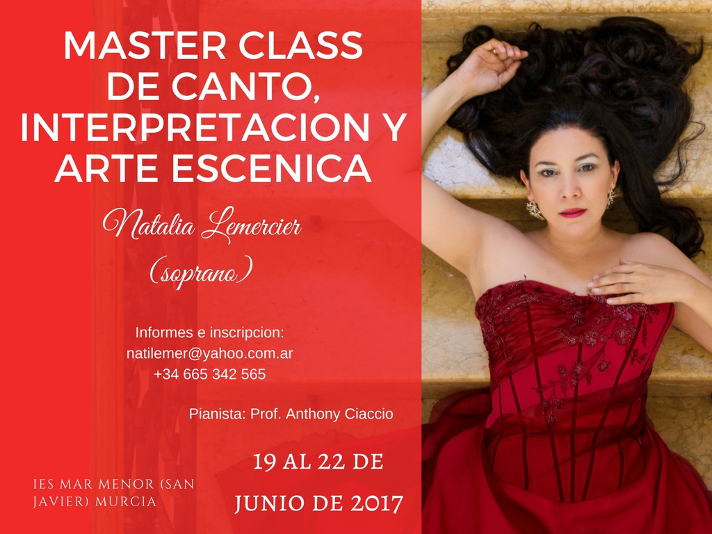 Master Class Murcia 2017