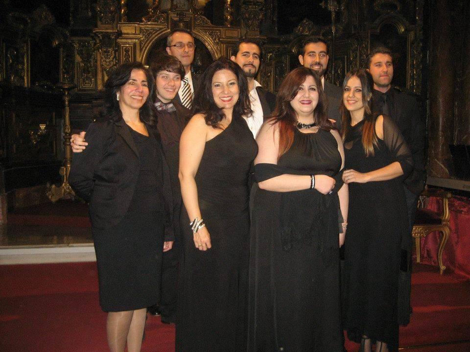 Alumnos Master Class Sevilla (2014)