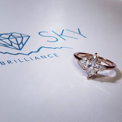 Marquise Engagement Ring