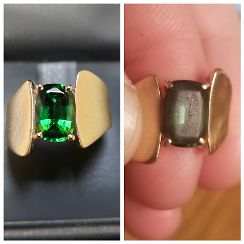Gemstone repair