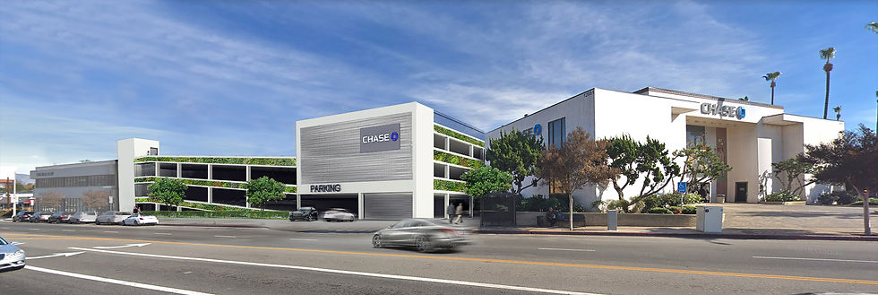 commercial architecture parking structure design