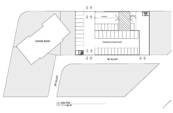 commercial architecture parking structure design