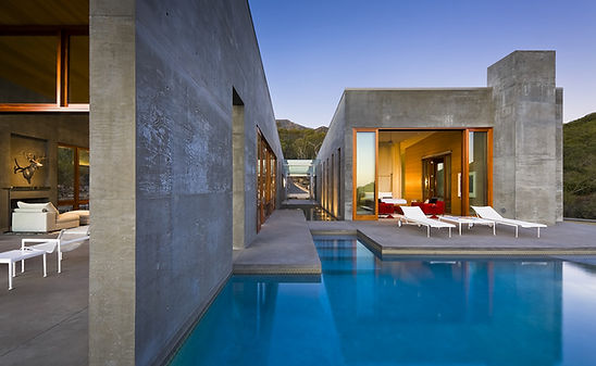 Single family home architecture
