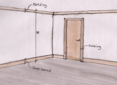 Baseboard, Casing and Crown Molding