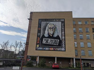 Billy Connolly by John Byrne
