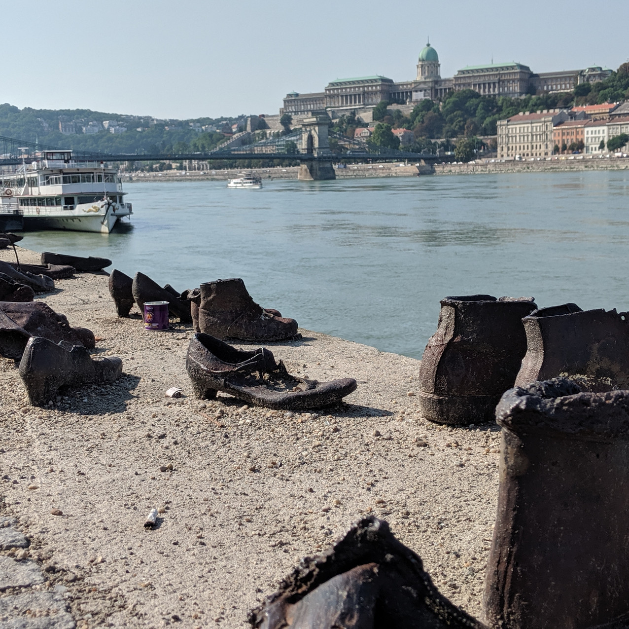 Shoes on the Danube.