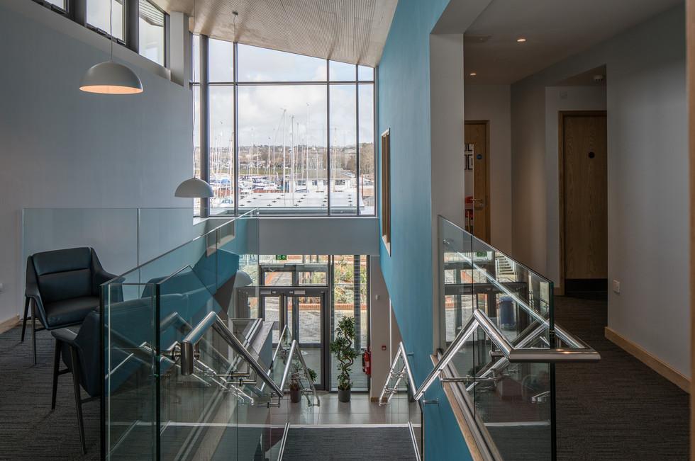 Parkstone Yacht Club stairs