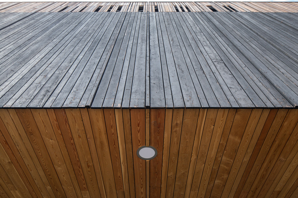 Stokewood timber cantilever detail