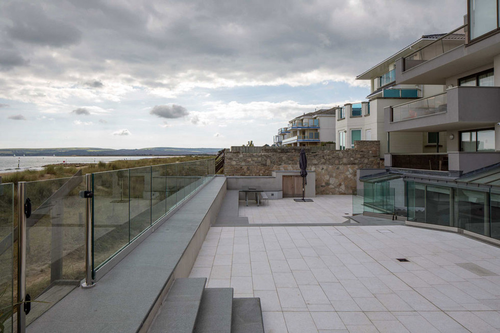 Oceanside patio