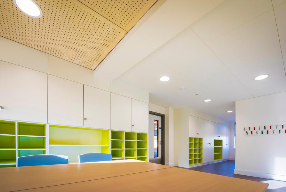 Downton Primary School green classroom