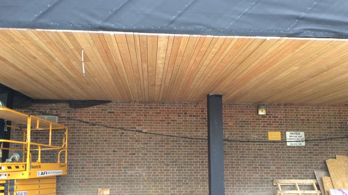 Stokewood exterior construction 5
