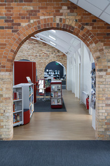 Bournemouth and Poole College LRC brick arch