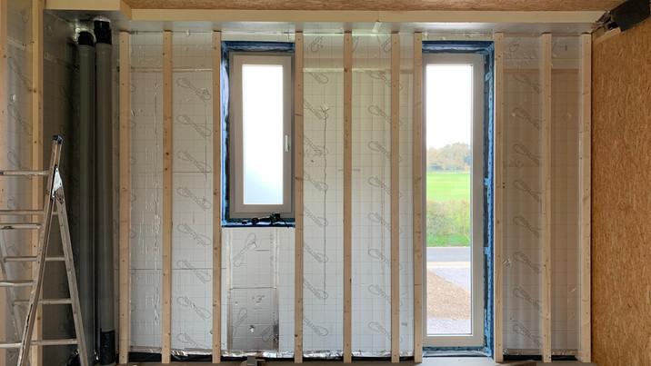 Chalk House window fitting