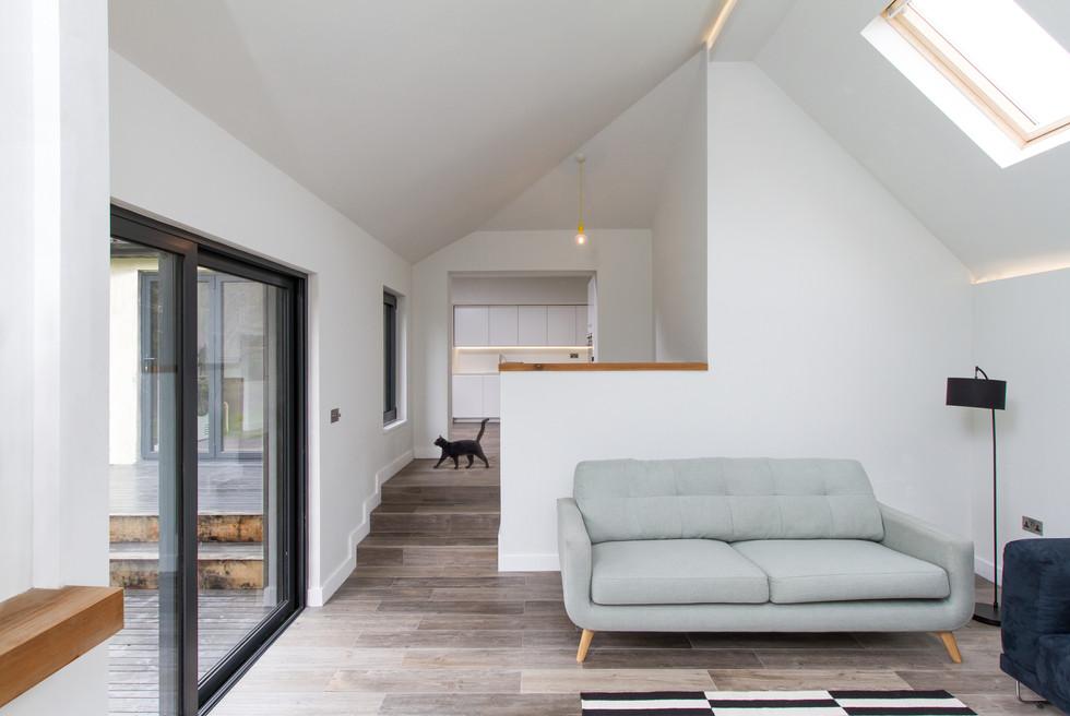 Fir House extension interior