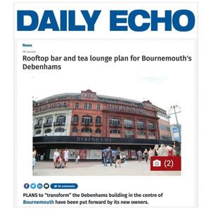 Debenhams Renovation - Bournemouth Daily Echo