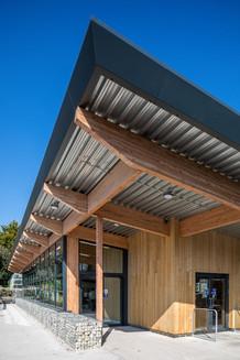 Chestnut Nursery entrance corner