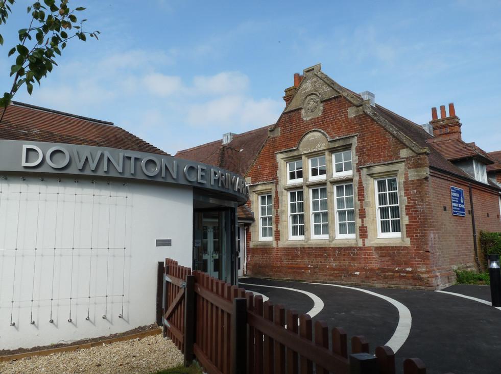 Downton Primary School Entrance extension exterior 1