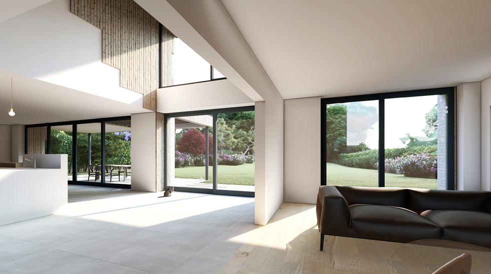 Chalk House interior render
