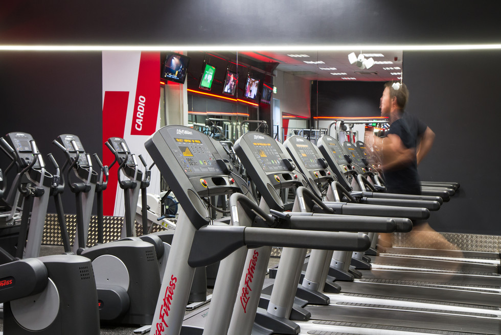 First Fitness running machines