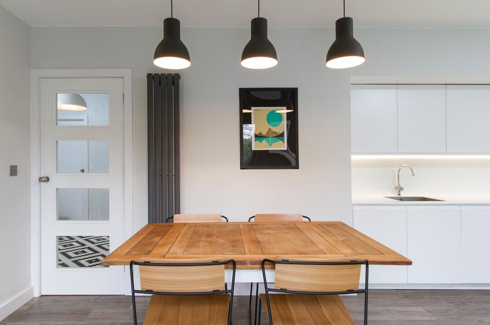 Fir House dining room