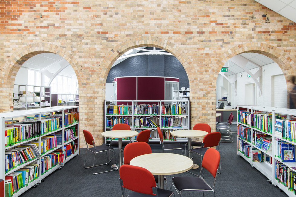 Bournemouth and Poole College LRC brick arches