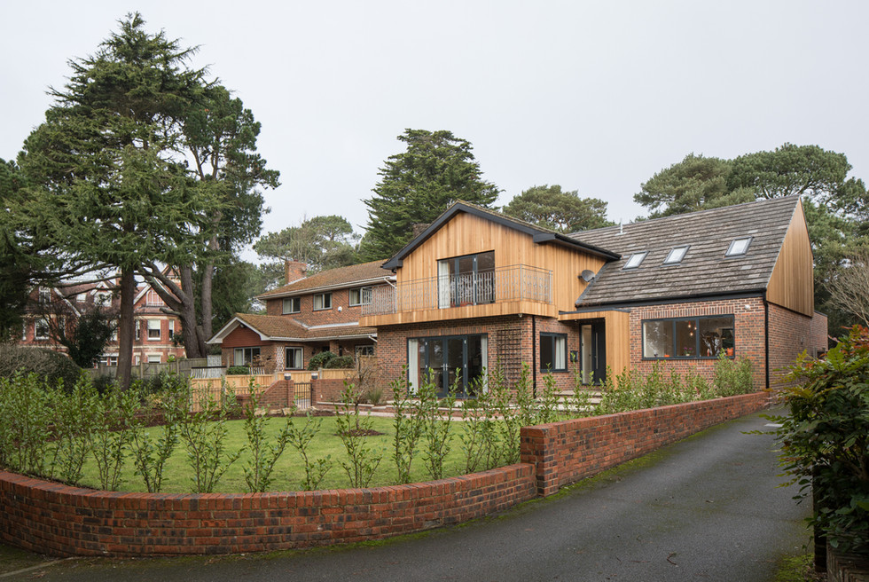 Branksome Wood front drive