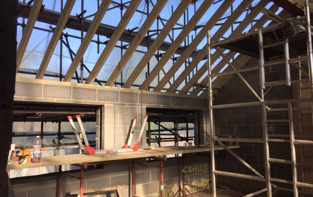 Branksome interior construction