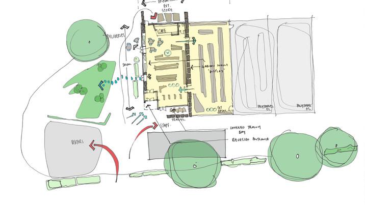 Chestnut Nursery Plan Sketch