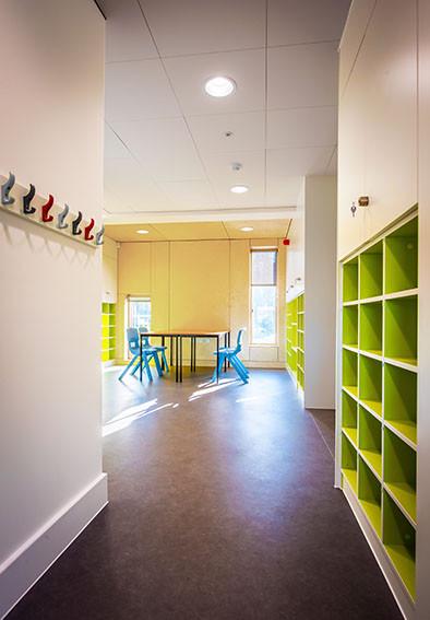 Downton Primary School green storage