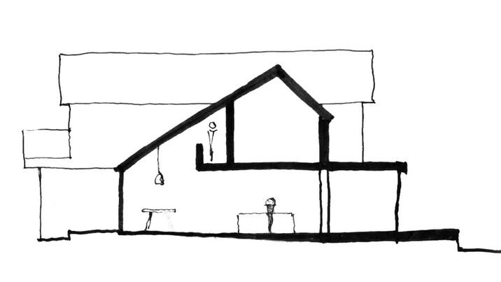 Branksome section sketch