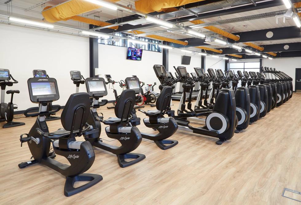 Stokewood gym bike equiptment