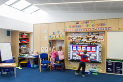 Heathlands Primary School classroom interior