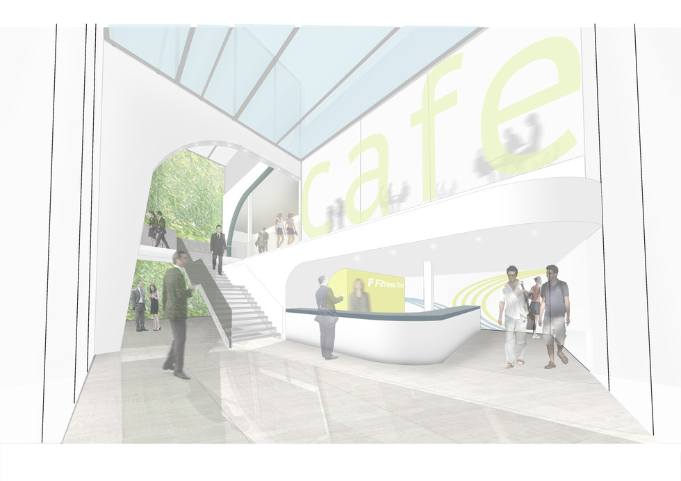 Fitness First HQ Render