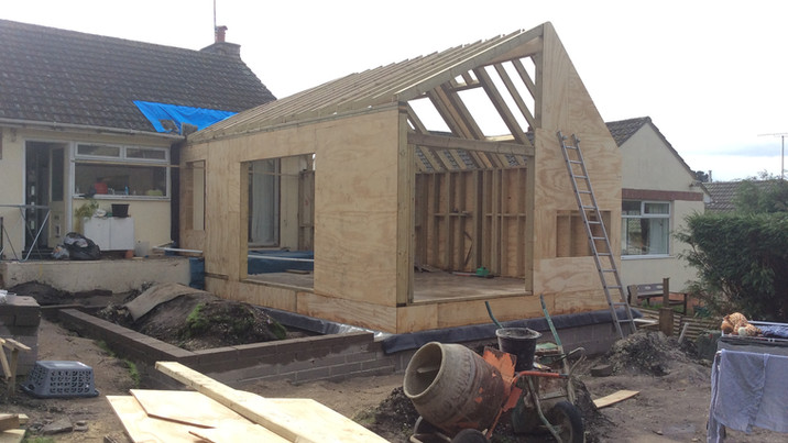 Fir House construction 4
