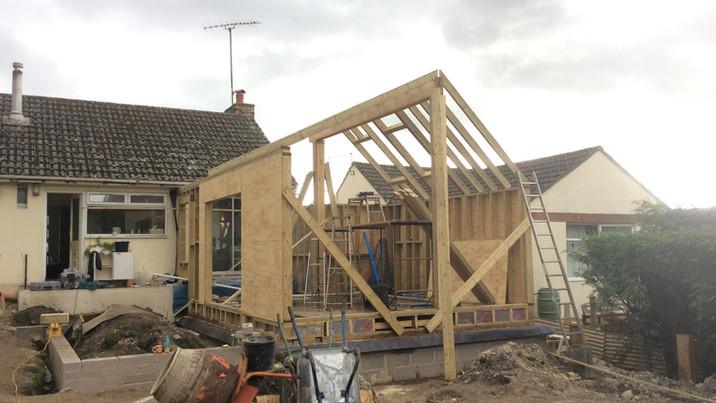 Fir House construction 3