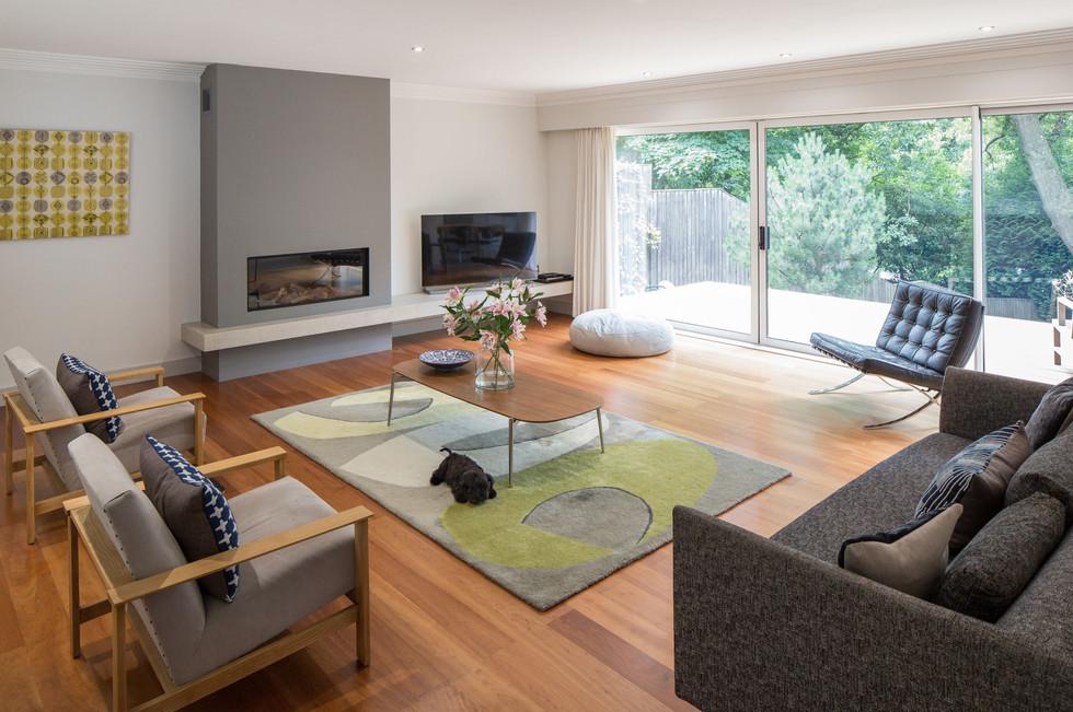 Floating House Living Room