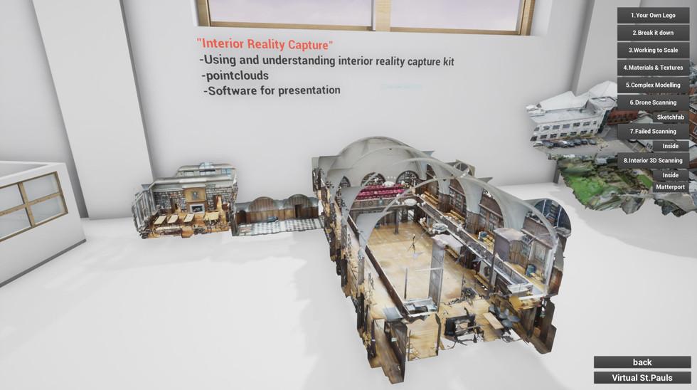 St Pauls Interior model overview