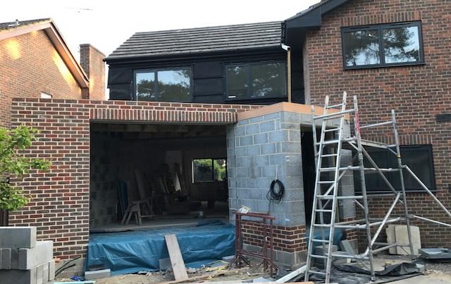 Branksome exterior extension